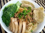 Mie Ayam Swikiau - Noodles with Chicken and Sui Kow